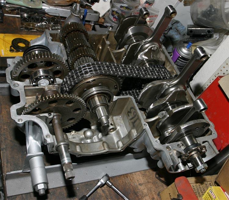 Carco\'s Triumph Seite - Restaurierung CR750