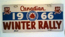 Canadian Winter Rally 1966